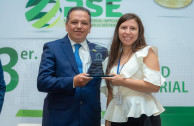 Recognition of Entrepreneurs in CSR Session, CUMIPAZ 2018