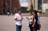 The Activists of the GEAP of San Luis Potosí carried out awareness activities and drives in hospitals and educational centers