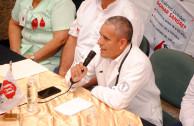 Dr. Hugo Zurita Martinez, head of the blood bank Hospital Juan Graham Casasus in Villahermosa Tabasco