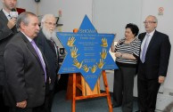 The DAIA receives the campaign Traces to Remember