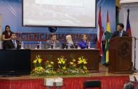 "Presentation of the book ""Holocaust: Paradigm of Genocide"" at the Gabriel René Moreno University"