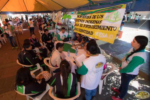 meda de propuestas indigenas jovenes