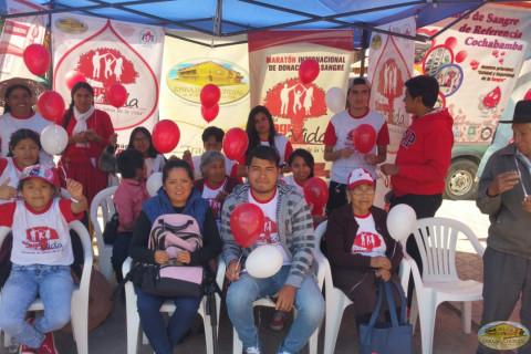 Activistas de Cochabamba
