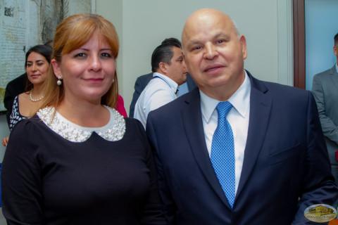 Lcda. Lara y Dr. Tuirán