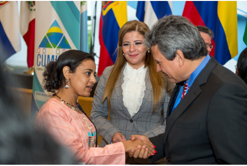 Gabriela Lara leads the Peace Integration Summit