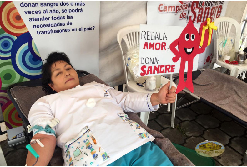 Donación en Hospital