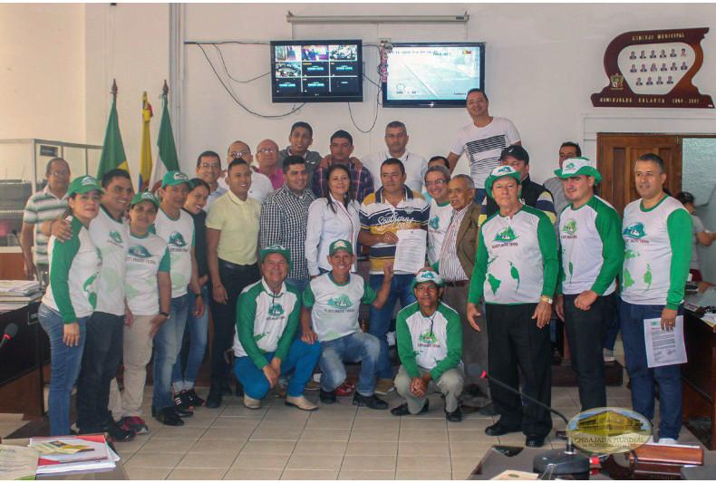 Socialización de la Proclama en Calarcá (Quindío)