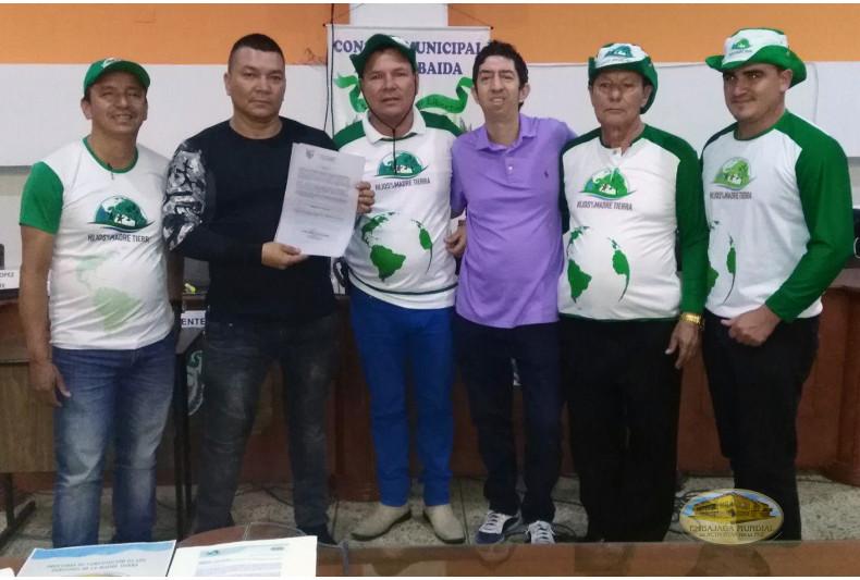 Firma de la resolución por autoridades del Concejo Municipal de La Tebaida