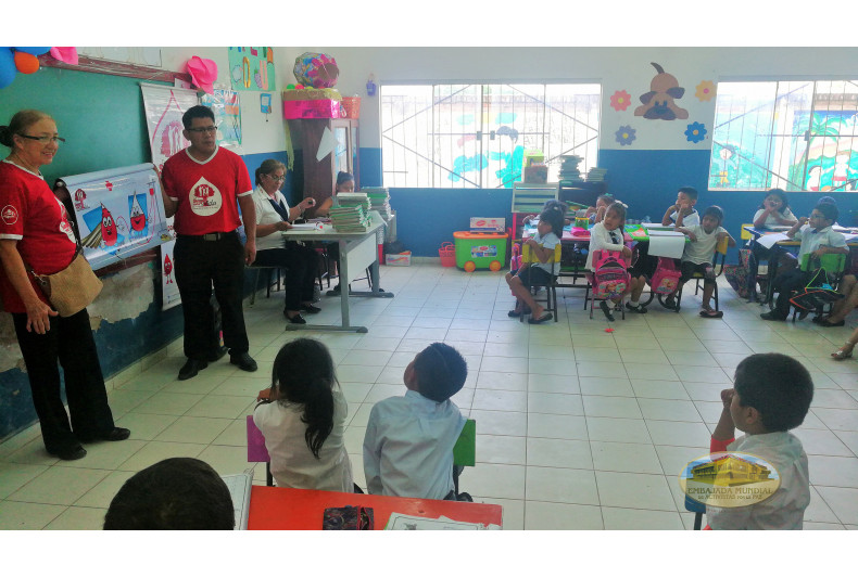 """Unidad Educativa """"San Diego de Samaria"""""""