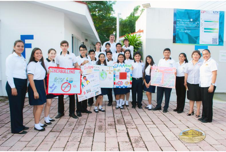 Propuesta de Paz en Instituto Universitario de Yucatán campus Villahermosa.