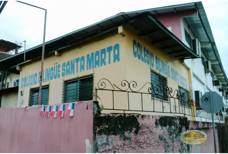 Instalaciones del Colegio Bilingüe Santa Marta