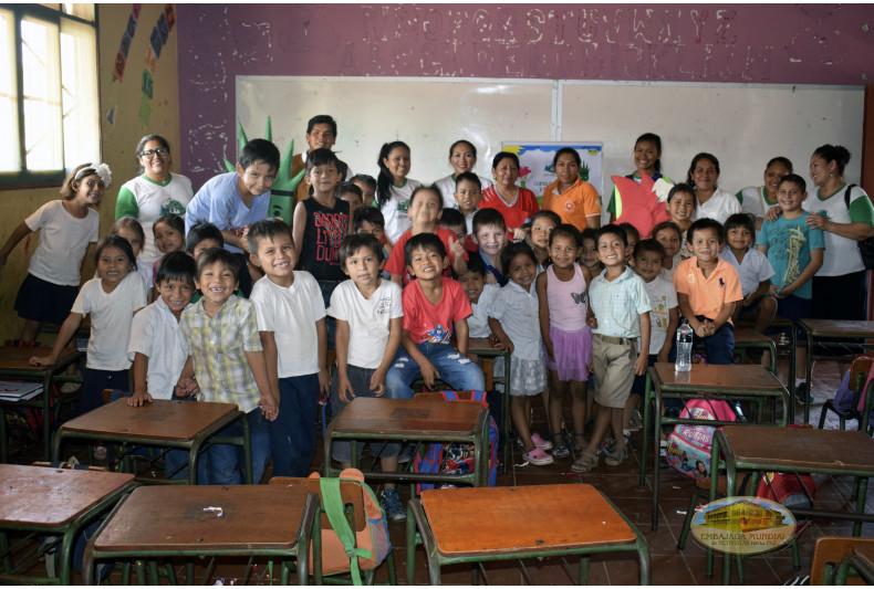 """Unidad Educativa """"José Natusch Velasco"""" recibe talleres de educación ambiental"""