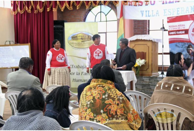 "Iglesia ""Cristo Resucitado"" recibe las charlas del ámbito familiar del PEC-VIDA"