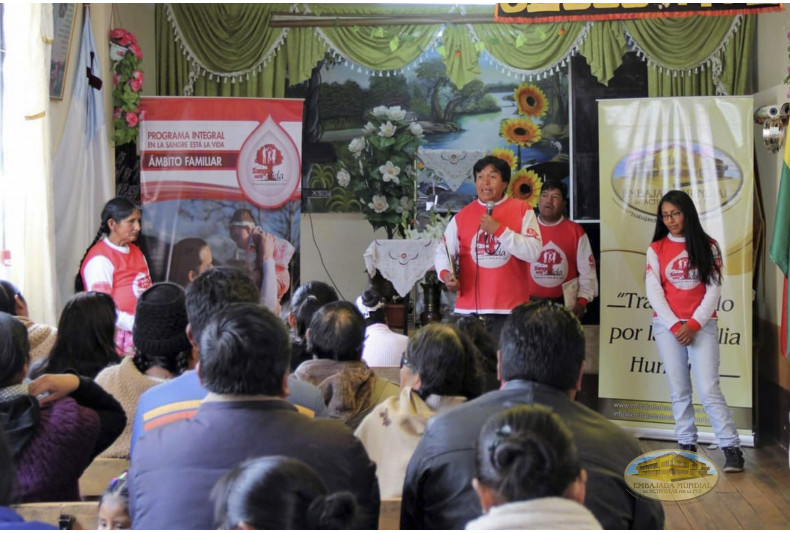 """Iglesia """"Pueblo de Dios"""" participa de las charlas de PEC-VIDA"""