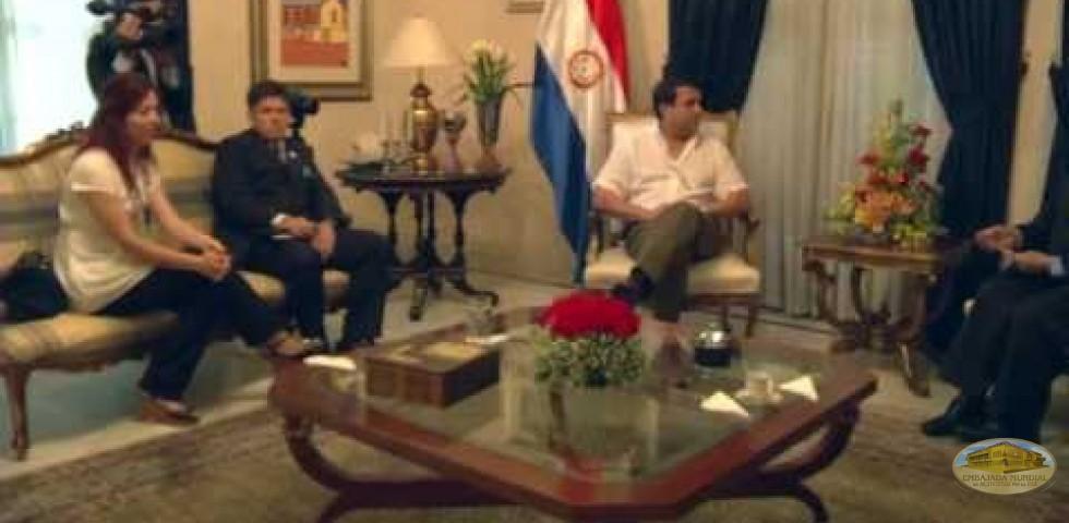 Huellas para no olvidar - Presidente y Primera Dama de Paraguay