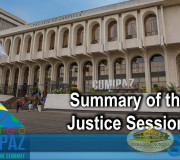 CUMIPAZ - Summary of the day: Justice Session 2018   GEAP