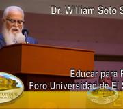 Educar para Recordar - Universidad de El Salvador - Dr. William Soto Santiago | EMAP