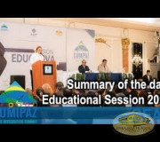 CUMIPAZ - Summary of the day: Educational Session 2018   GEAP